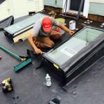 Skylight installation in Melrose, MA