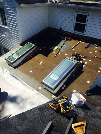 Rubber Roofing Amp Skylights In Reading Ma Burke Roofs