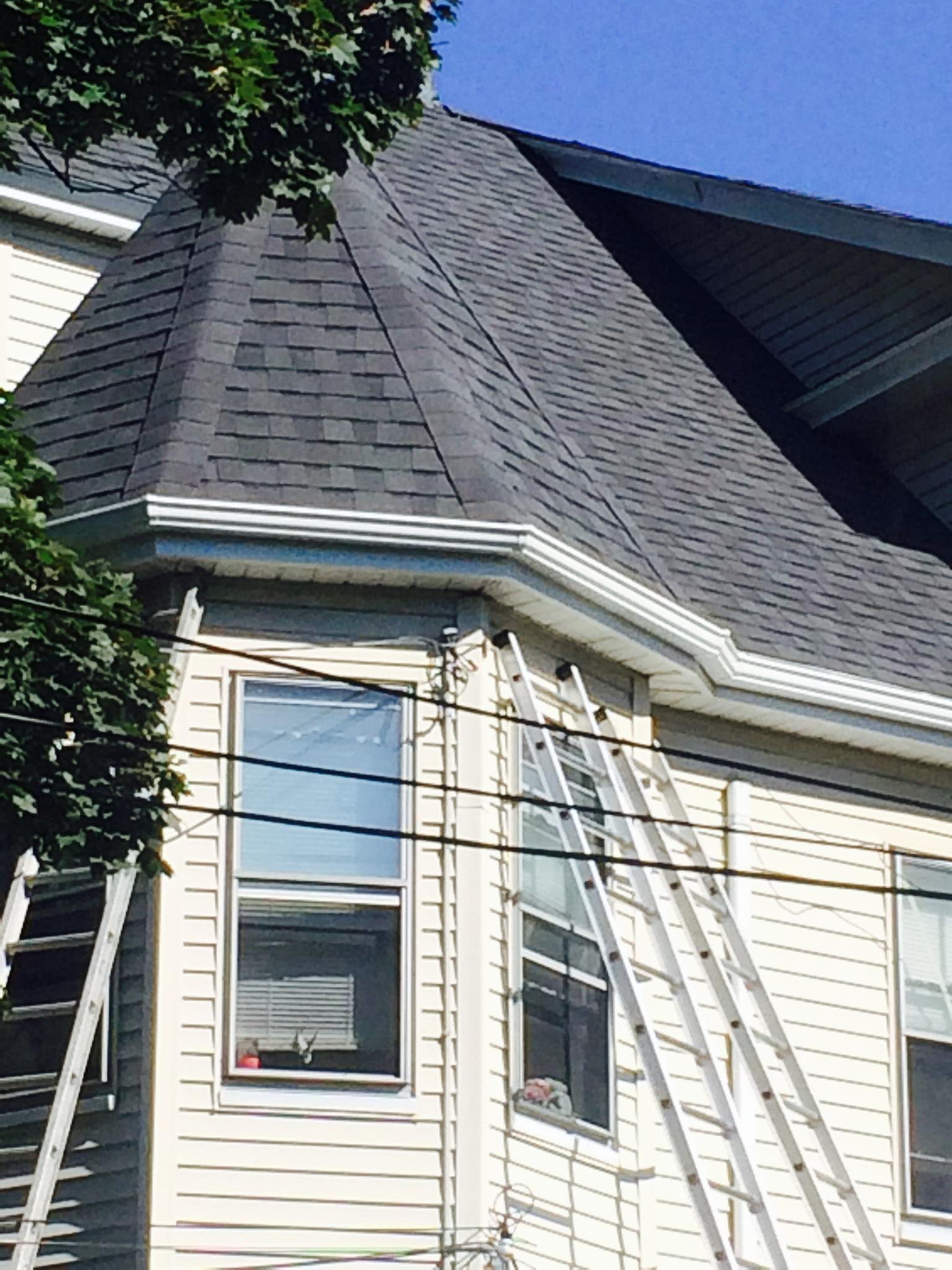 Gutter Installation In Malden Ma Burke Roofs