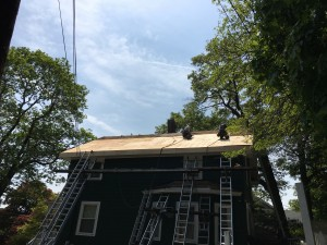 roofing project malden ma
