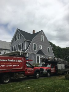 roofing project in melrose