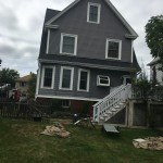 roofing project in Melrose, MA
