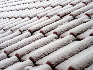 roof with snow